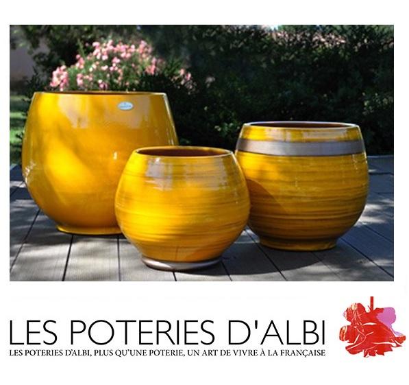 Poteries d\'Albi - Collection Ibiza Sunshine