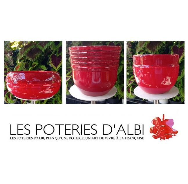 poteries albi 4 - La jardinerie de pessicart nice - Livraison a domicile nice 06 plantes vertes terres terreaux jardinage décoration