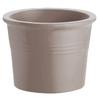 pot cylindrique Terre Cuite greige