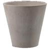 Pot Conique Terre Naturelle Grise de chez Decolines la jardinerie de Pessicart Nice 06100