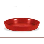 soucoupes ronde eda rouge