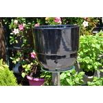 Poteries dAlbi - La jardinerie de pessicart - Vase rebord - D30H27 - metal