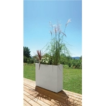 La jardinerie de pessicart 5019-muret-loft-xl-graphit-blanc-ceruse-99-5-x-29-5-x-78-5-cm-63l
