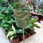 Panier rond vert JAMIE - h24,5xd25cm la jardinerie de pessicart nice