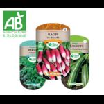 graines potageres bio agriculture biologique semences les doigts verts- La jardinerie de pessicart nice - Livraison a domicile nice 06 plantes vertes terres terreaux jardinage