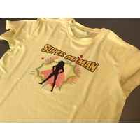 TEE SHIRT SUPER MAMAN TAILLE S
