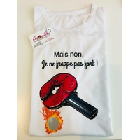 TEE SHIRT FRAPPE FORT PING