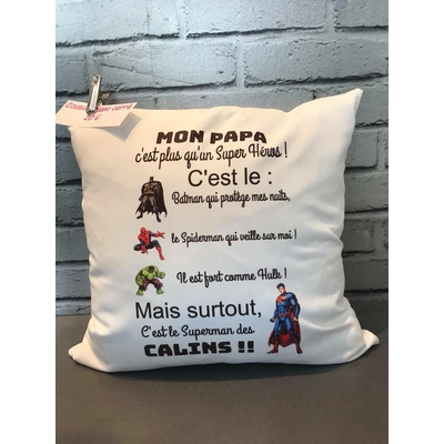 COUSSIN SUPER HEROS