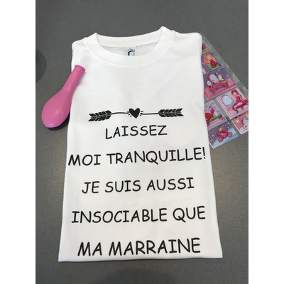 TEE SHIRT INSOCIABLE COMME ...