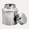 Boîte à thé argent domed lid 500g