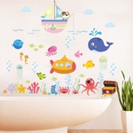 Sticker enfant Capitaine Nemo - 2