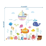 Sticker enfant Capitaine Nemo - 1