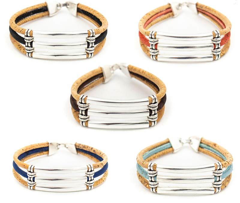 Bracelet en liège modèle trio