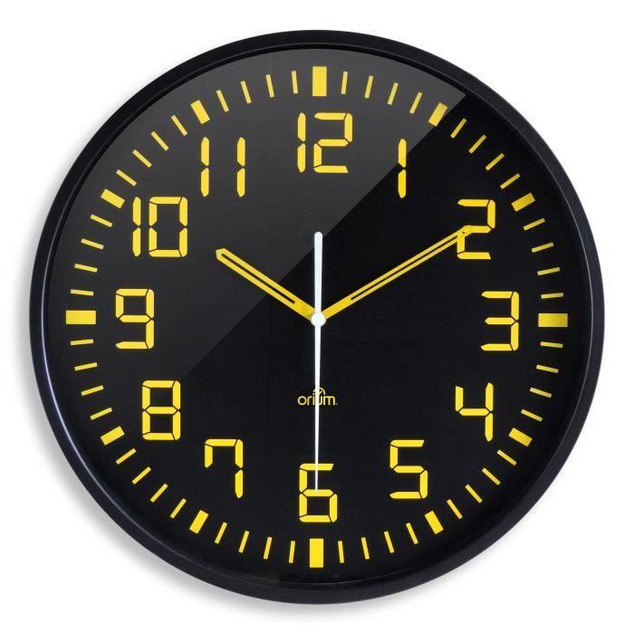Horloge analogique silencieuse contraste 30cm