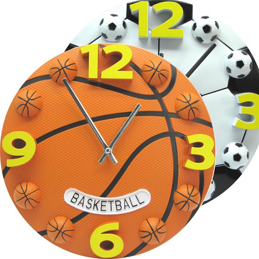 Horloge murale sportive pour enfant 30cm