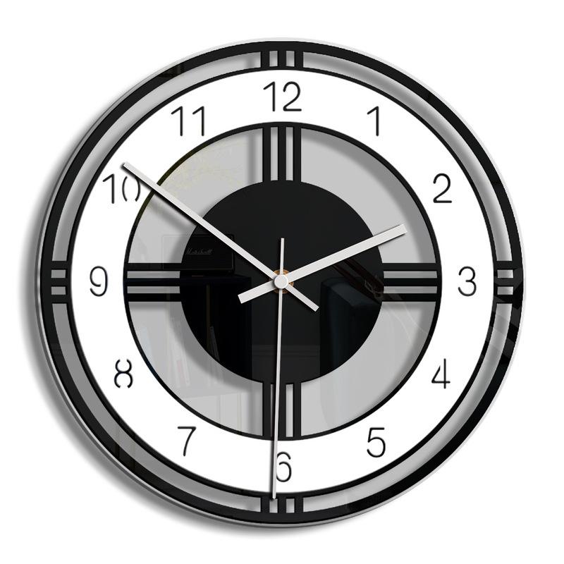 Horloge murale moderne en acrylique 29 cm
