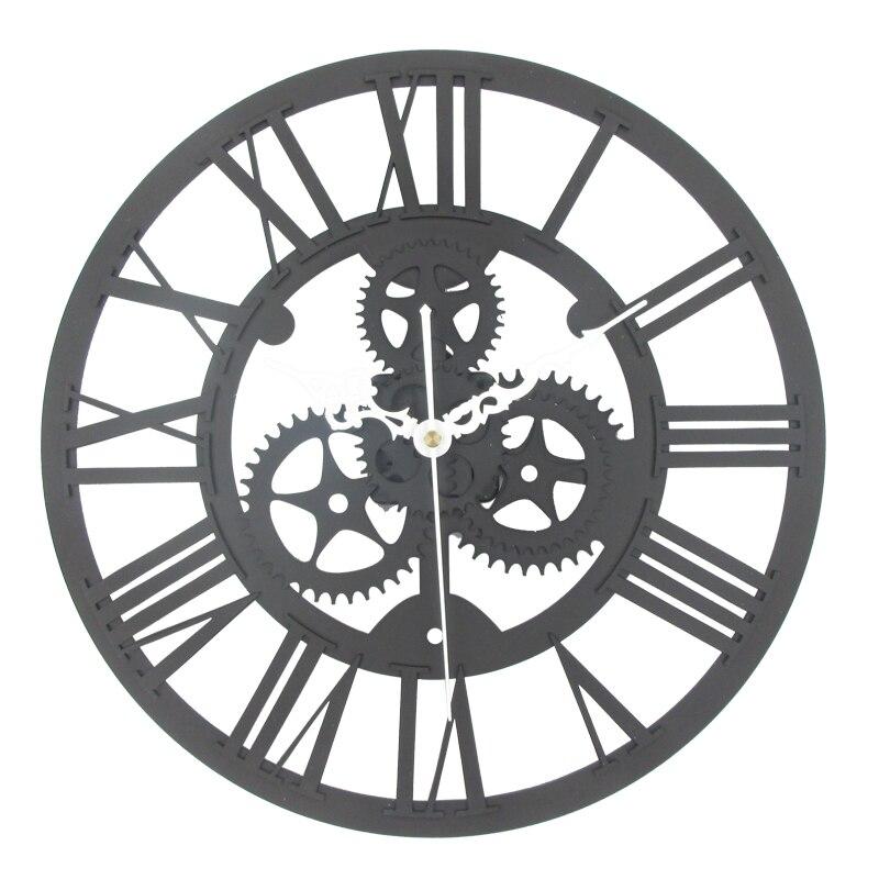 horloge style industriel, chiffres romains