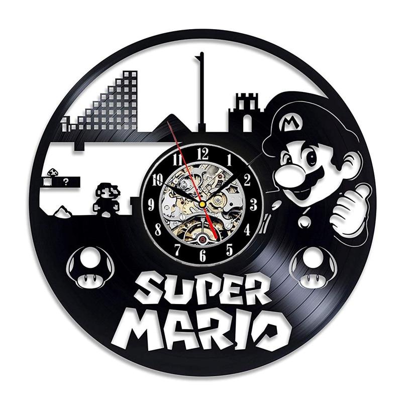Horloge-murale-3D-pour-salle-de-jeux-Super-Mario-en-vinyle-d-coration-d-int-rieur