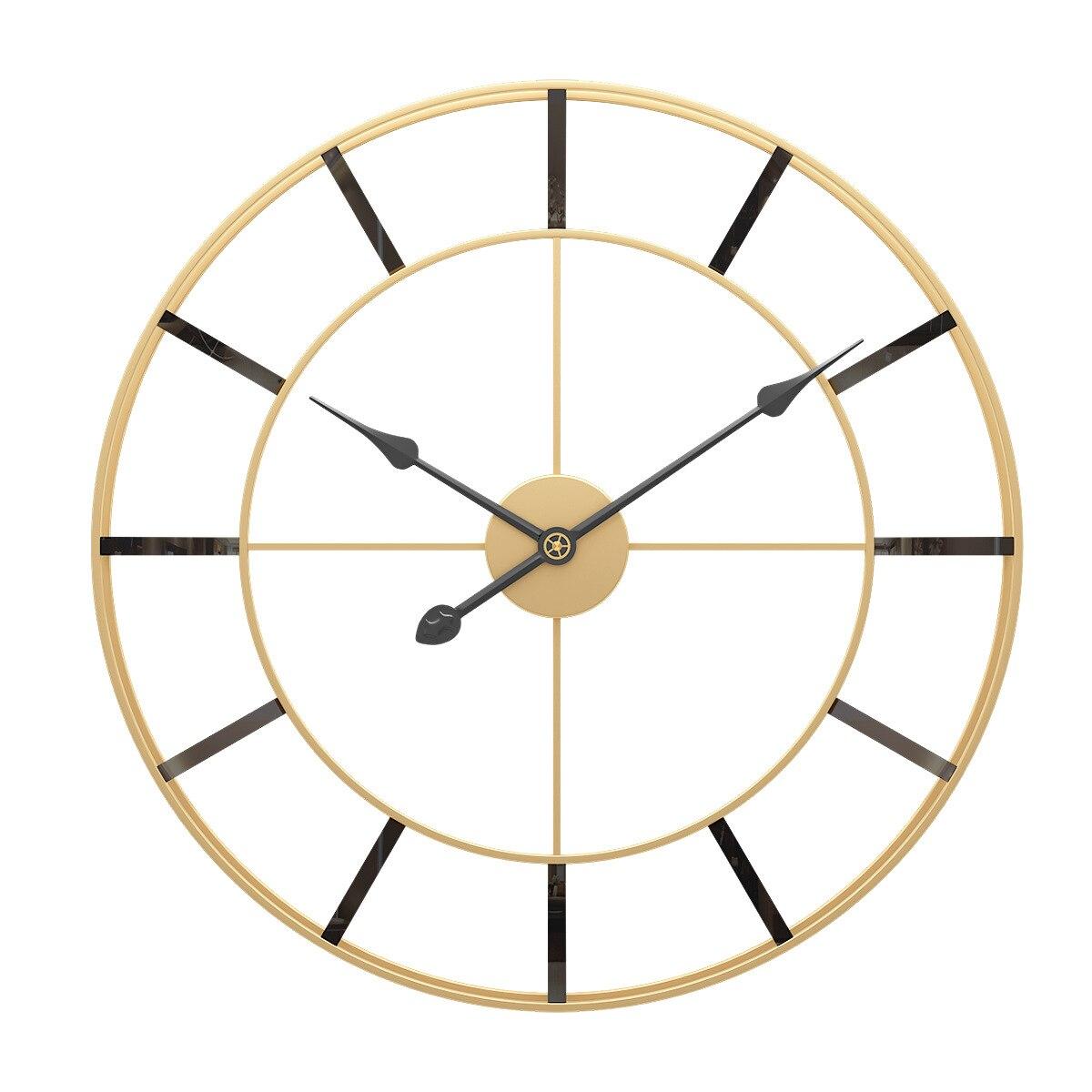 Horloge murale de luxe minimaliste 50 cm