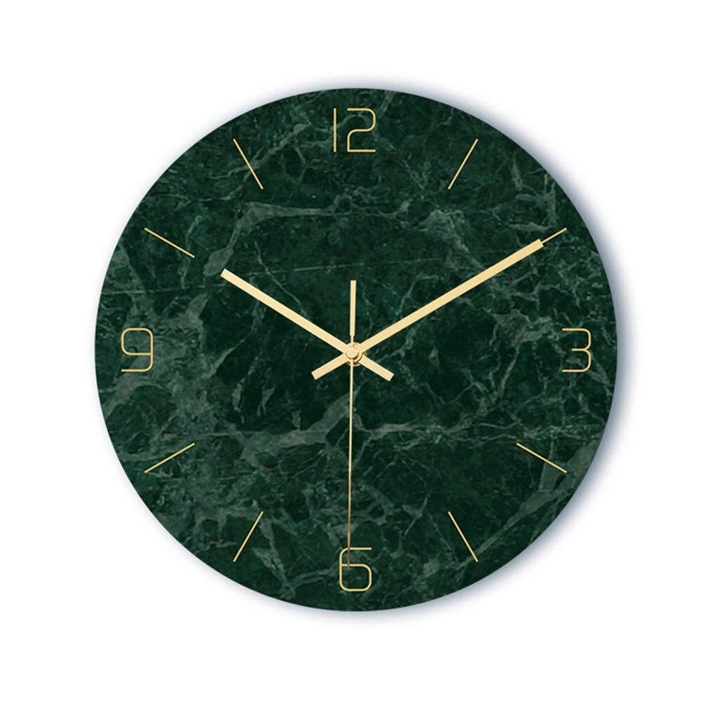 Horloge murale texture marbre 32 cm