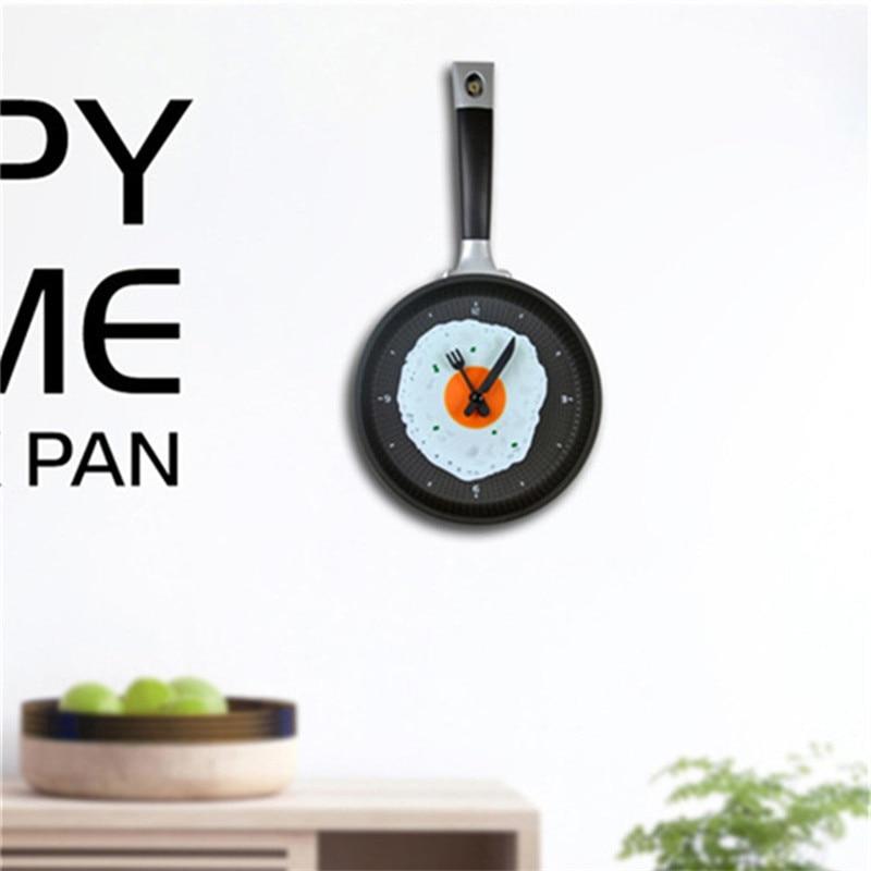 Horloge Omelette Creative Et Moderne Pour Decoration Cuisine 36 Cm