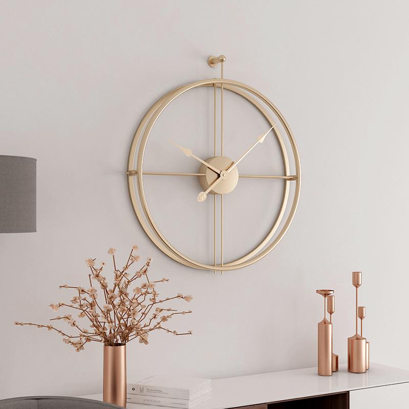 Grande Horloge Murale moderne et silencieuse 40 cm