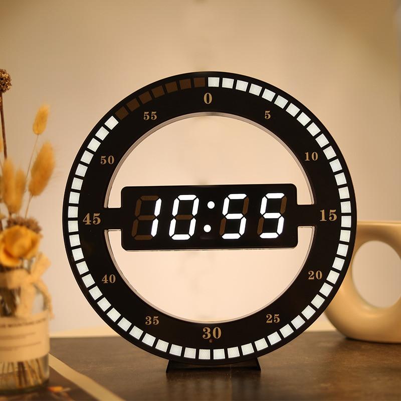 Horloge Murale et Circulaire à LED 31cm