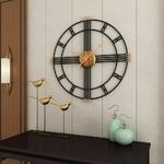 Horloge-murale-cr-ative-r-tro-fer-chiffres-romains-muet-horloge-murale-piles-horloge-murale-ronde
