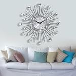 33cm-Vintage-m-tal-cristal-Sunburst-horloge-murale-de-luxe-diamant-grande-moderne-horloge-murale-Da