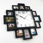 2018-nouveau-bricolage-Horloge-murale-Design-moderne-bricolage-Photo-cadre-Horloge-en-plastique-Art-photos-Horloge