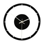 Style-nordique-horloge-murale-silencieuse-transparente-acrylique-horloge-maison-salon-r-tro-fer-visage-rond-noir
