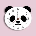 Mignon-horloge-murale-Design-moderne-m-canisme-pour-pendule-cr-atif-dessin-anim-Panda-horloge-murale