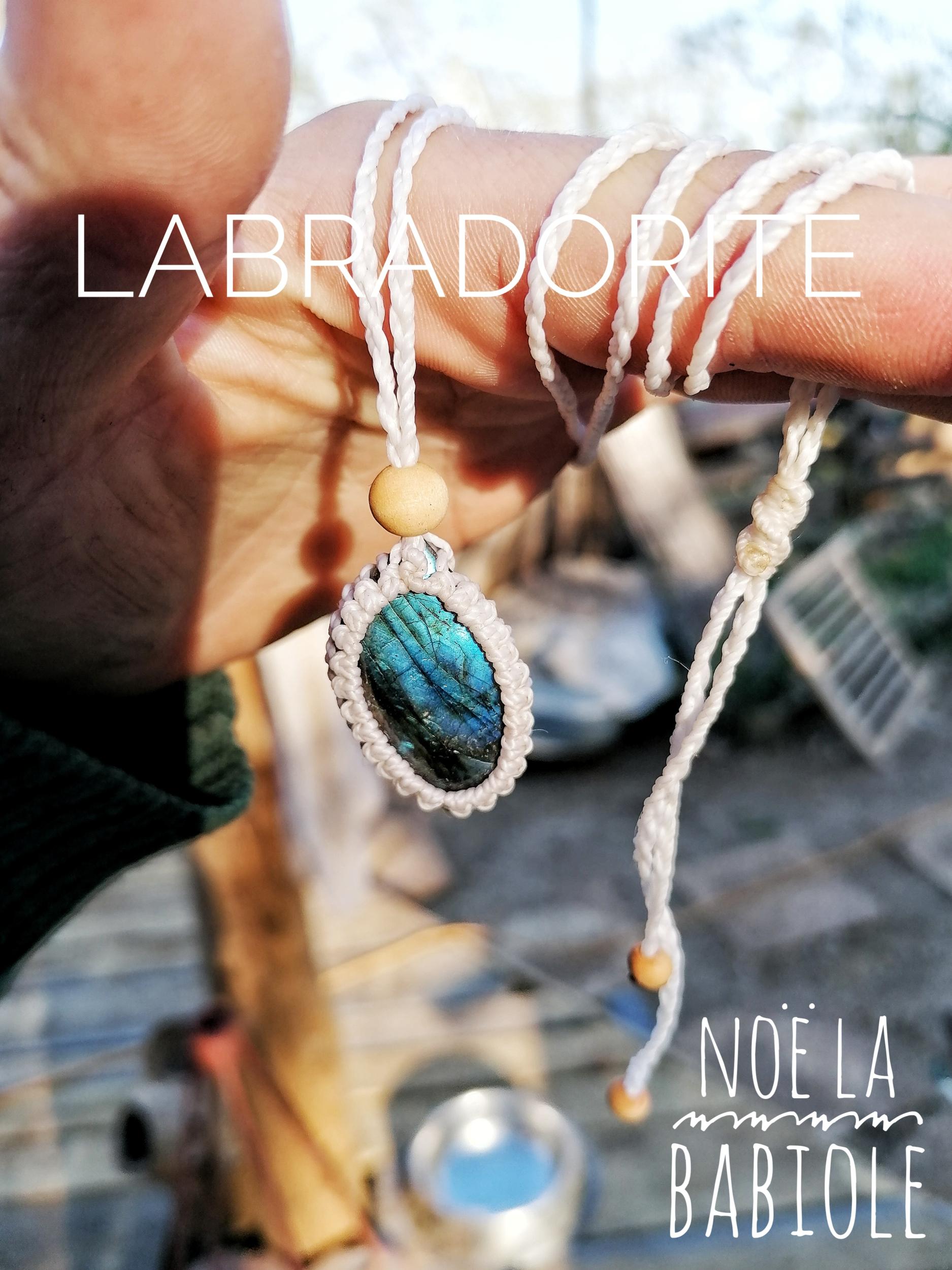 Collier en Labradorite