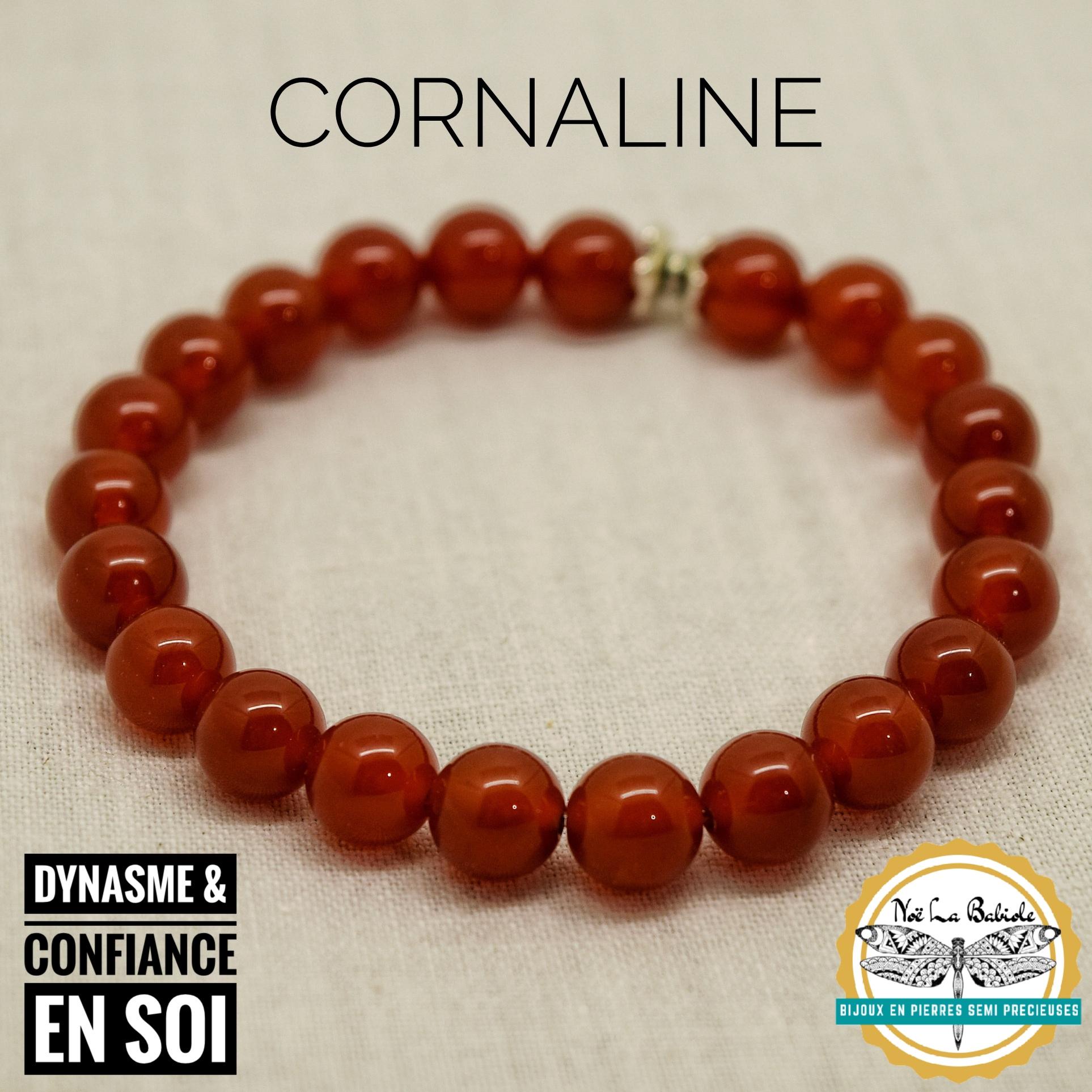 Bracelet Amour de la vie en Cornaline