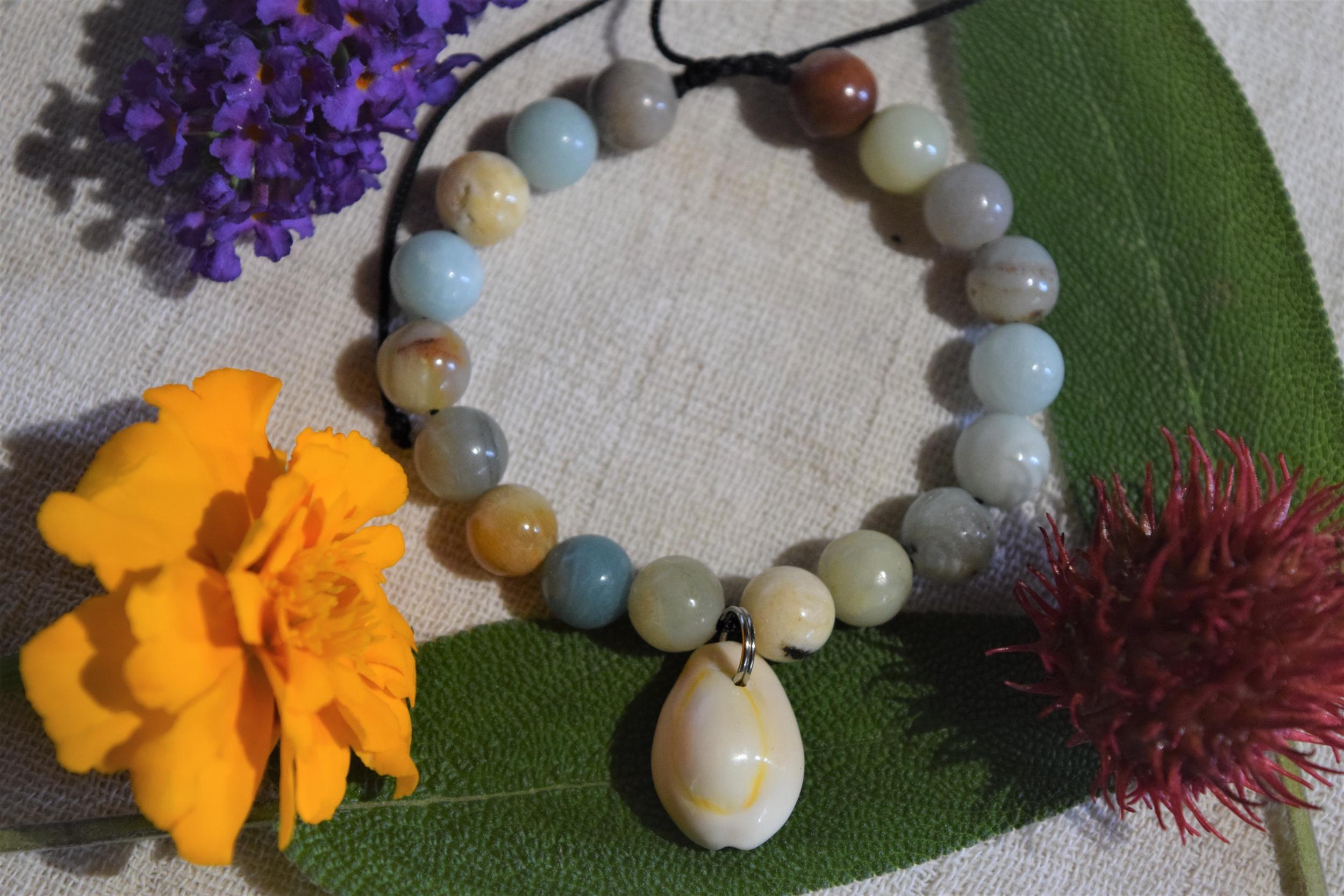 Bracelet Réconfort en Amazonite