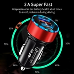 OLAF-30W-3A-Charge-rapide-3-0-USB-chargeur-de-voiture-pour-Xiao-mi-Huawei-Supercharge