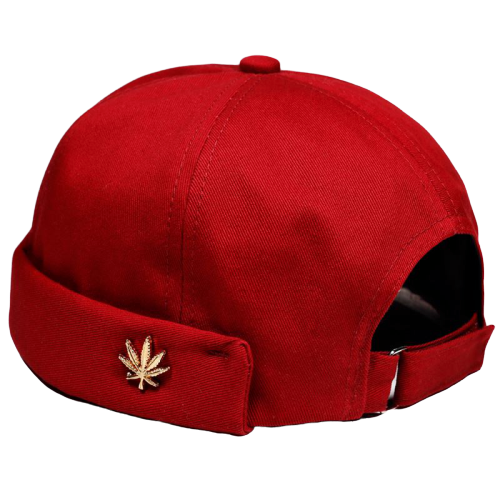 casquette docker port kaiser rouge