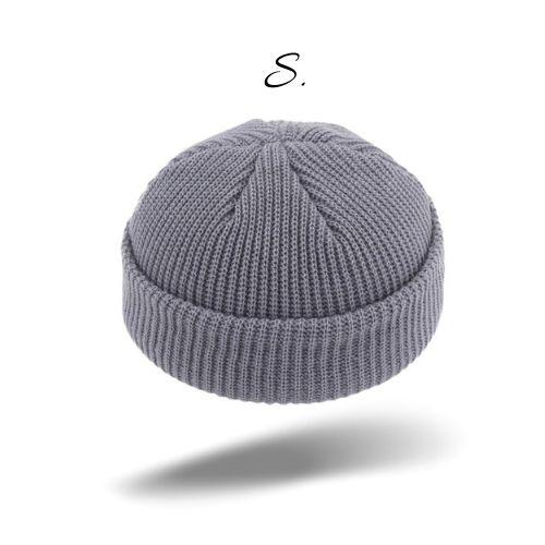 bonnet marin casquette sans visière france gris