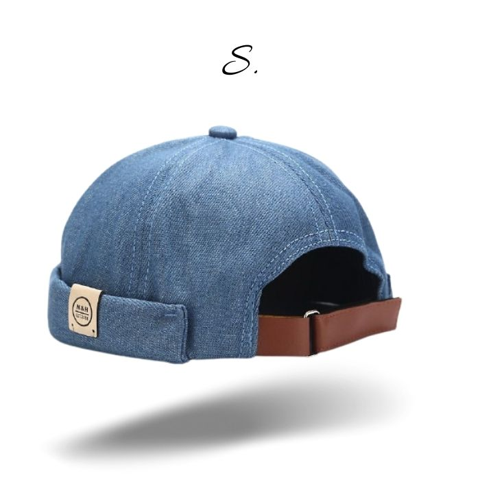 Casquette sans visière Bunbury Bleu Jean