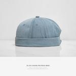 INFLATION-2019-nuevo-sombrero-redondo-estilo-chino-Unisex-Snapback-pareja-gorras-Flanging-color-s-lido-moda