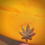 casquette docker miki bonnet sans visière jaune (1)