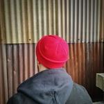 rotterdam bonnet marin cousteau docker miki casquette sans visière rouge (3)