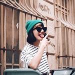 casquette bonnet marin sans visière femme bleu cousteau (2)