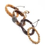 bracelets-multicouches-en-cuir-noir-et-m_main-1