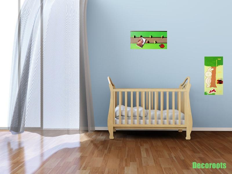 P le m le enfant b b nature coccinelles enfant b b for Pele mele chambre enfant