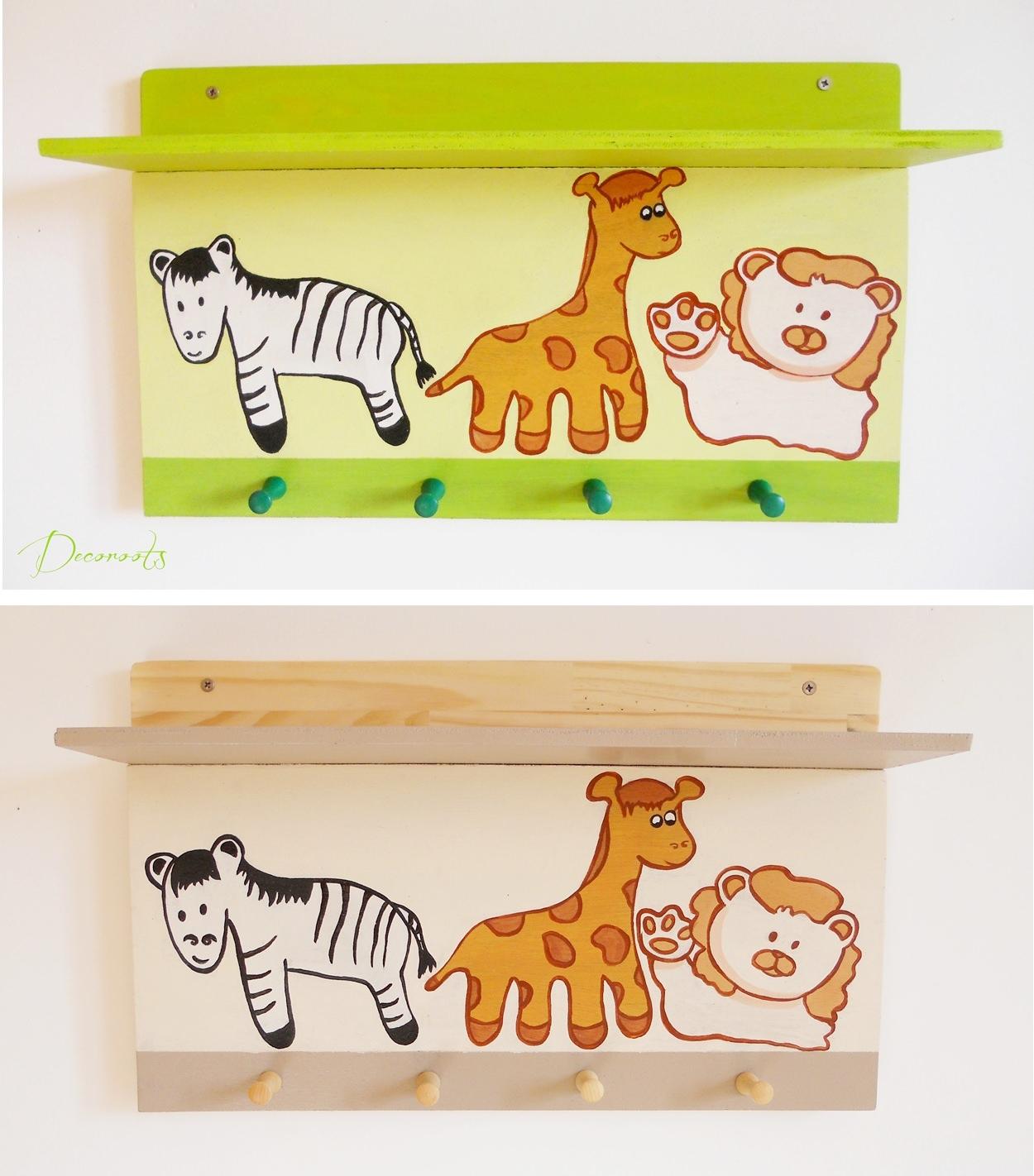 tag re porte manteau enfant b b girafe et compagnie. Black Bedroom Furniture Sets. Home Design Ideas