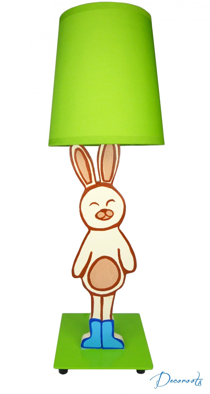 Lampe de chevet lapin gar on existe en bleu enfant for Lampe de chevet lapin