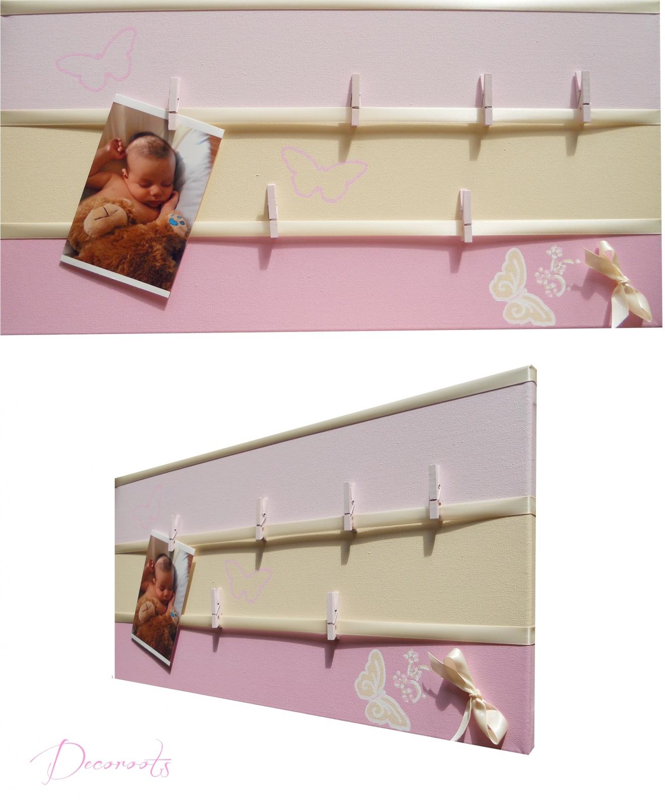 Pêle mêle photo enfant bébé   décoration chambre enfant bébé ...
