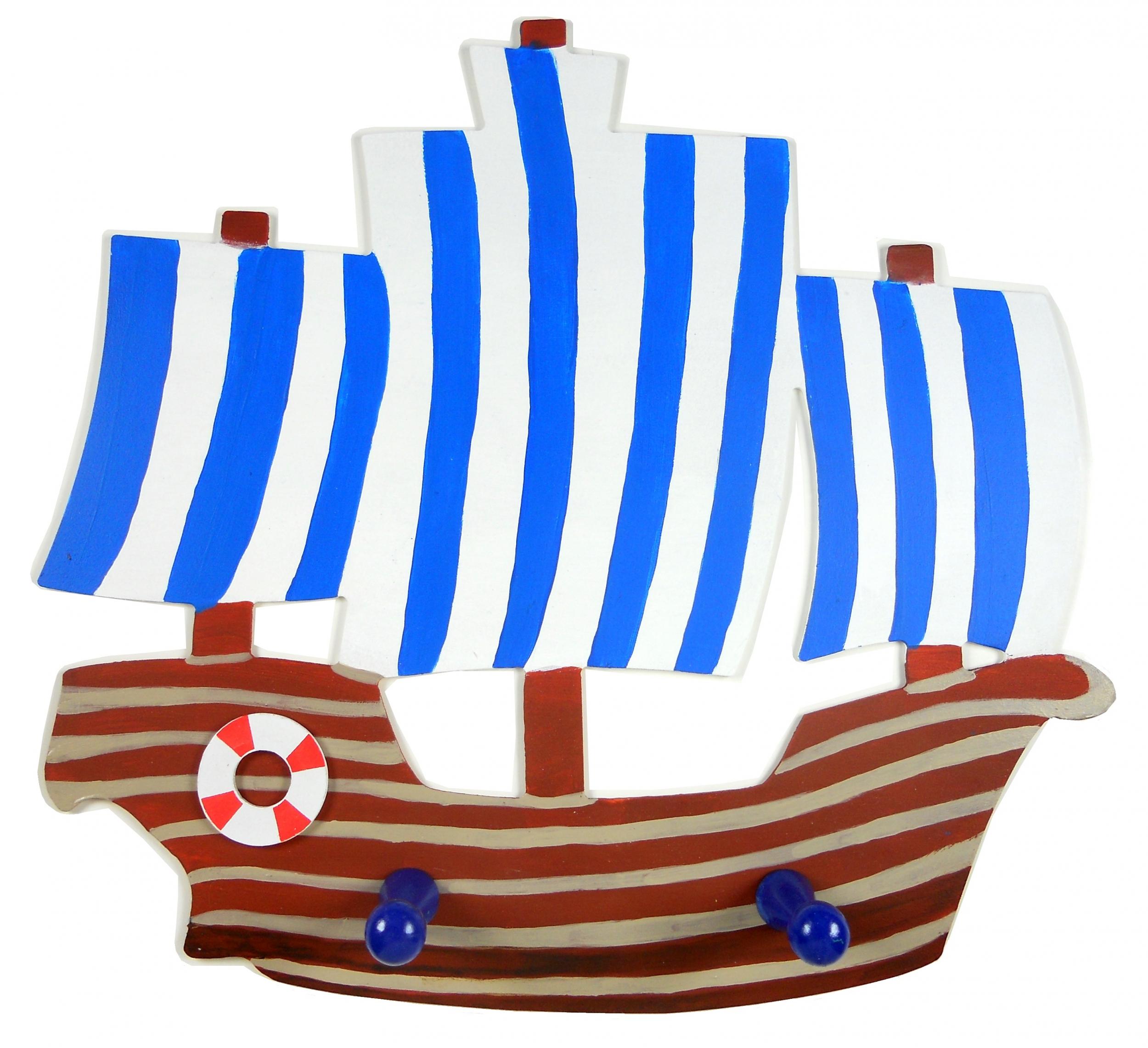 porte manteau bateau pirate marin mer navire