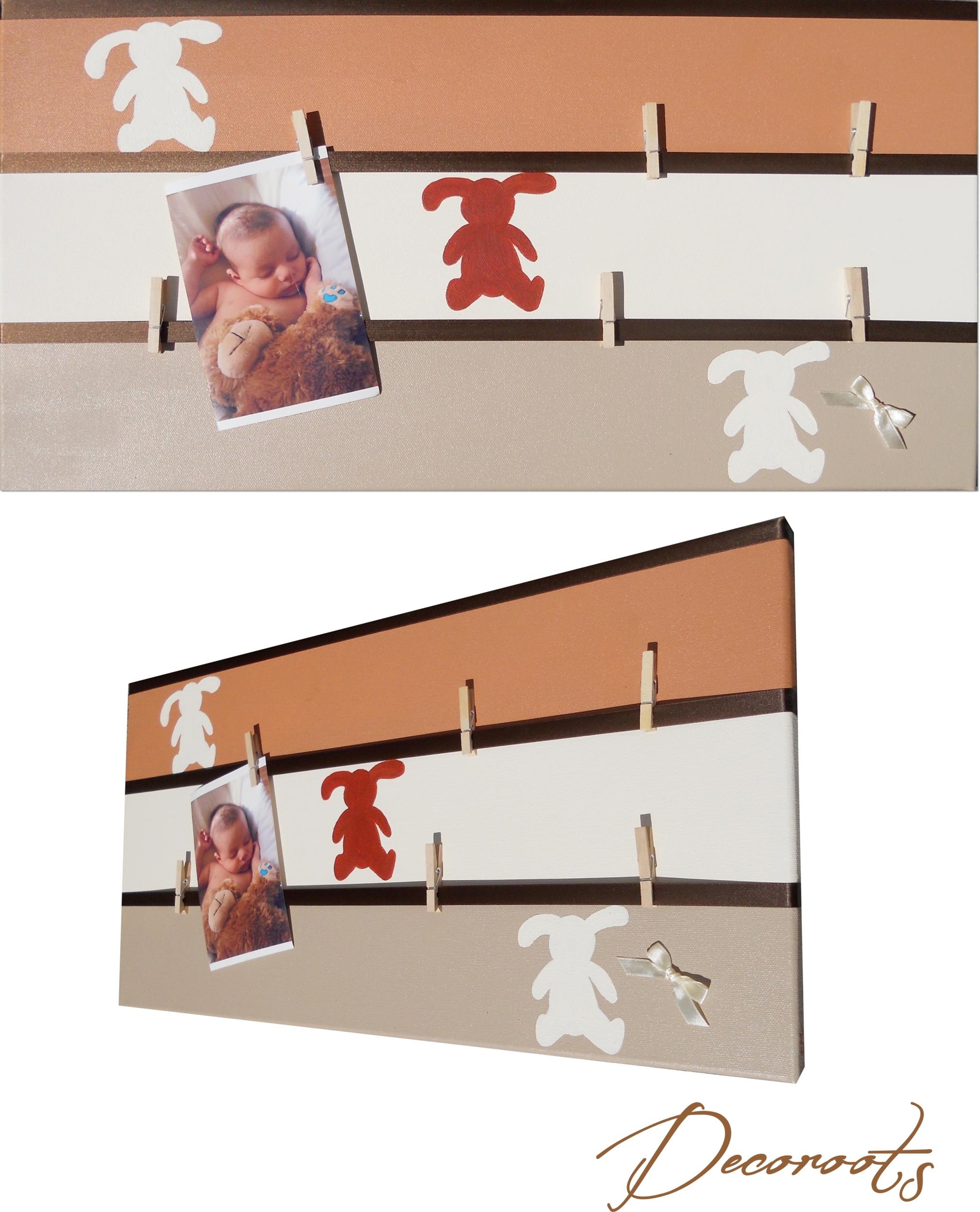 pele mele lapin chocolat marron beige enfant bébé 3